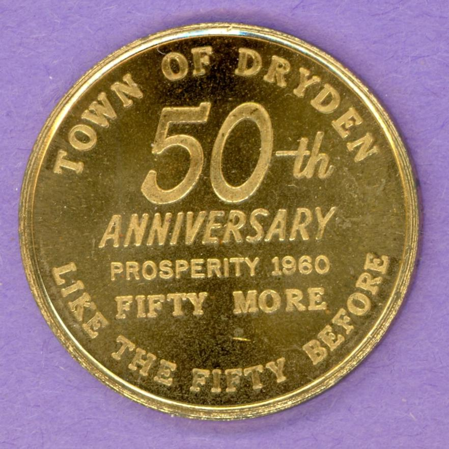 1960 Dryden Ontario Trade Dollar