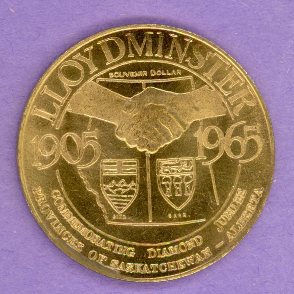 1963 Lloydminster Saskatchewan Trade Dollar