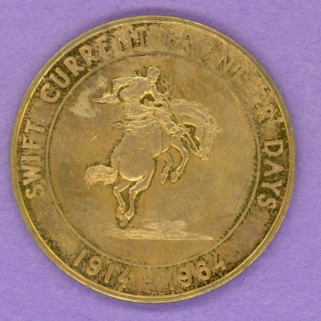 1964 Swift Current Saskatchewan Trade Token - Equal