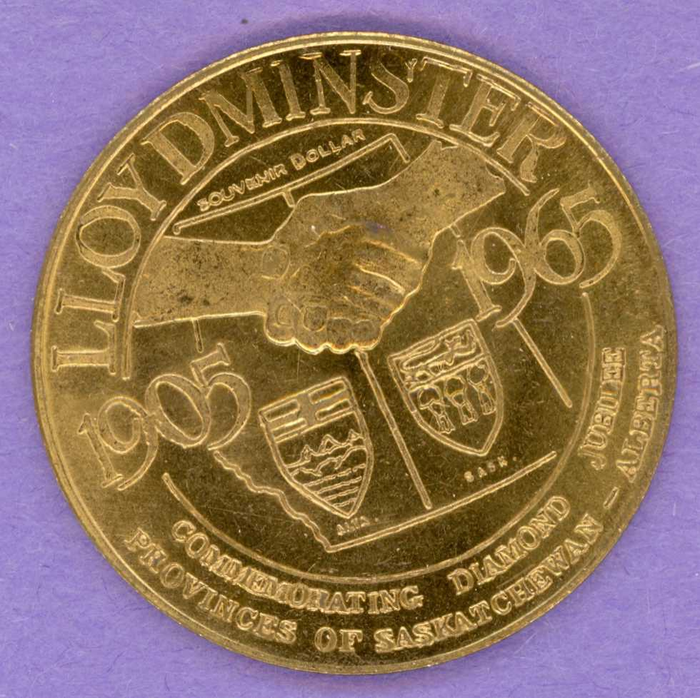 1965 Lloydminster Saskatchewan Trade Dollar