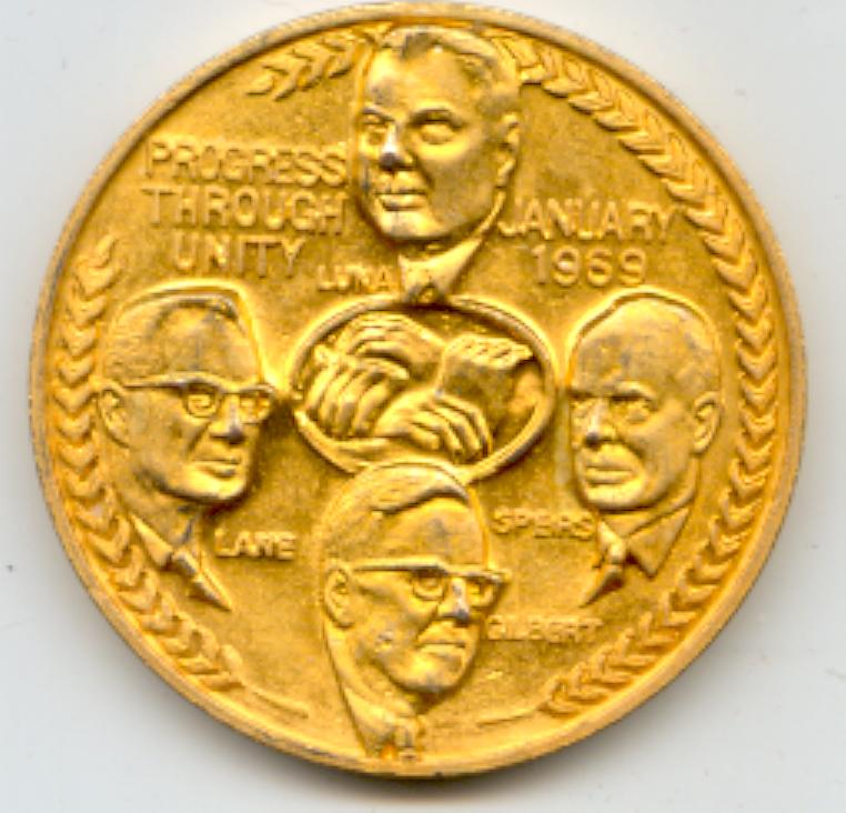 1969 United Transportation Union Medallion