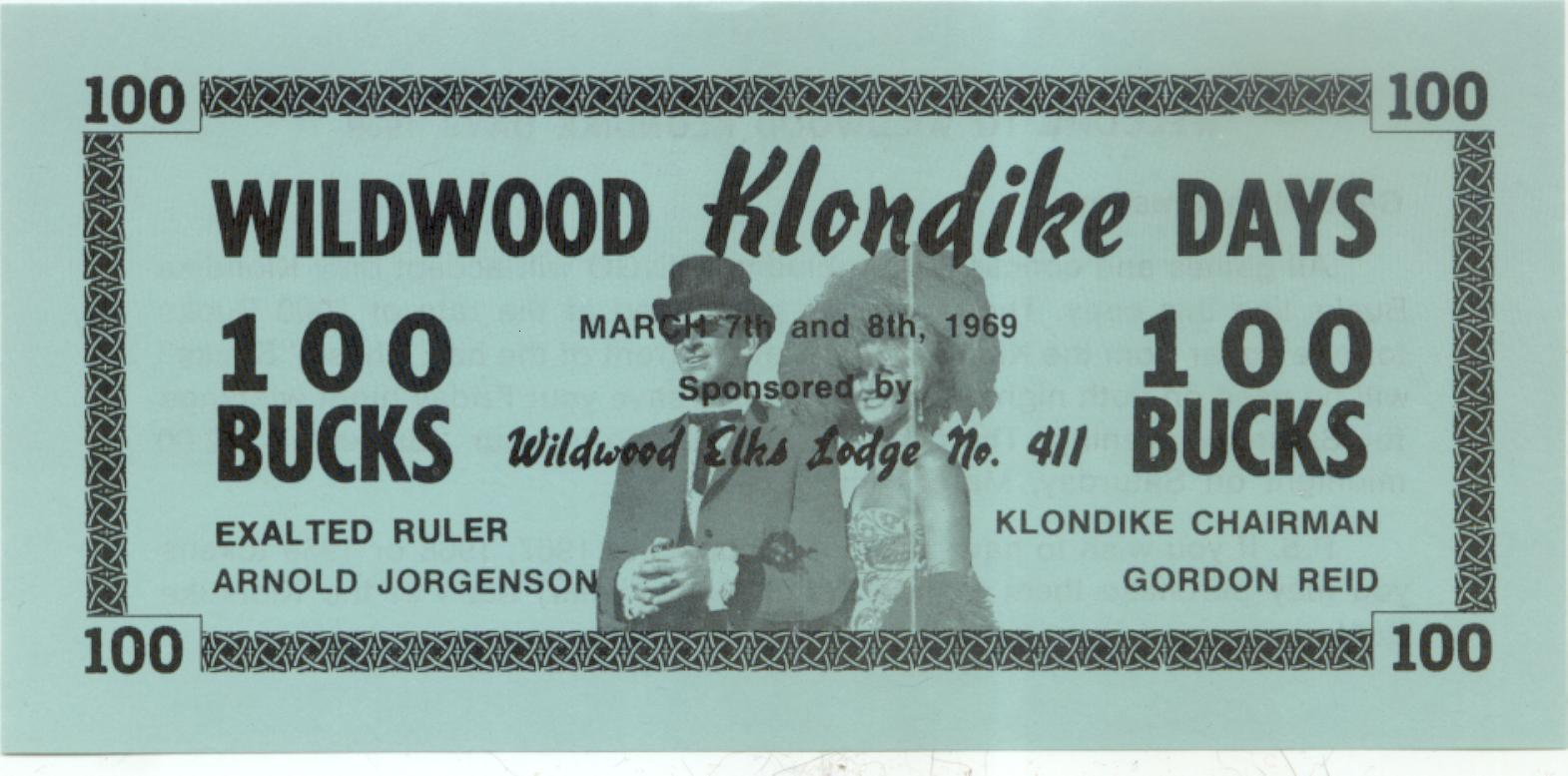 1969 Wildwood Alberta 100 bucks