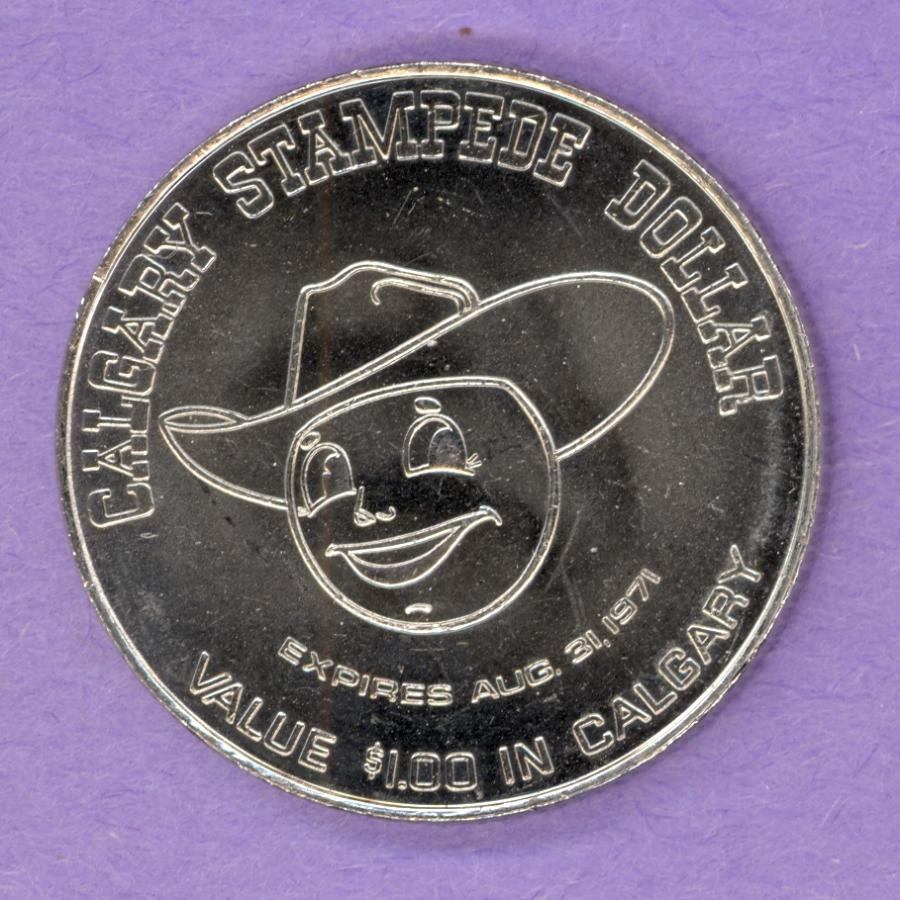 1971 Calgary Alberta Trade Token - Caricature