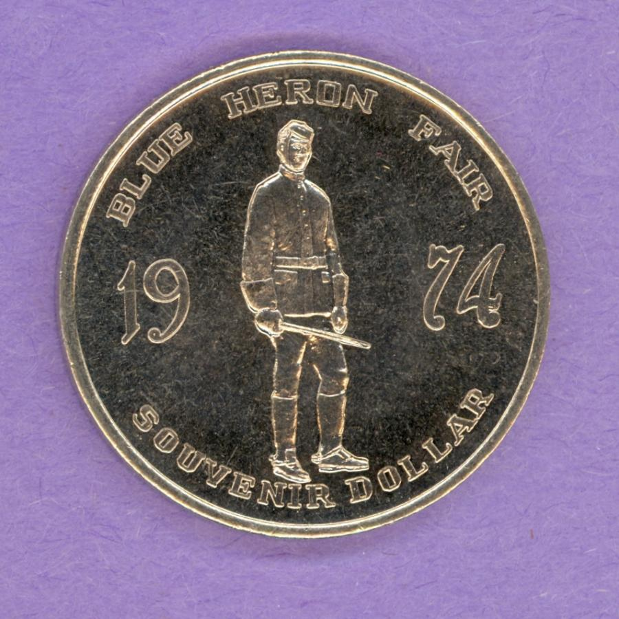 1974 Barrhead Trade Token - Officer