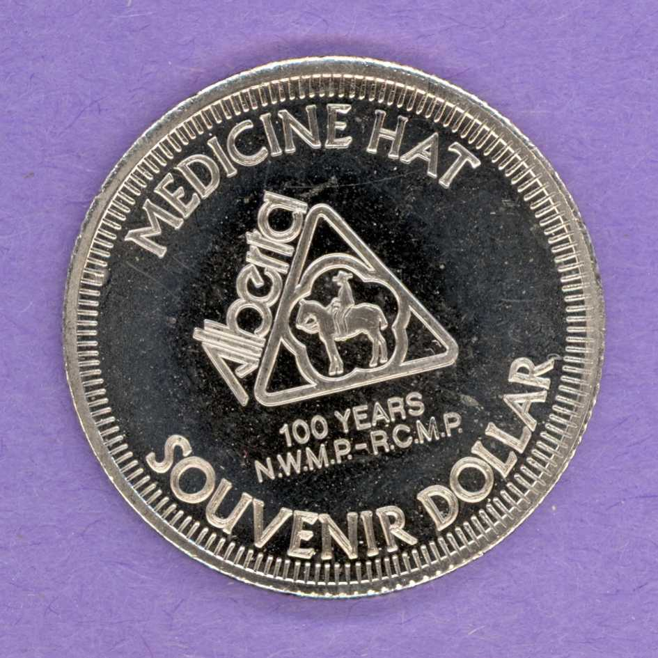 1974 Medicine Hat Alberta Trade Token - Mountie