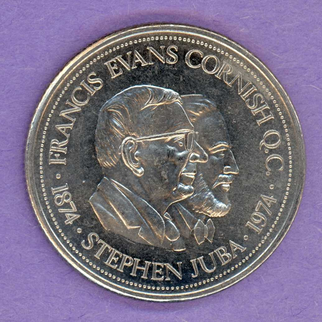 1974 Winnipeg Trade Dollar - No Mint Mark