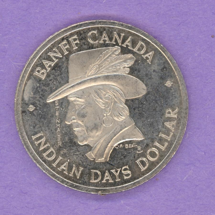 1975 Banff Trade Token - Chief Steinhauer