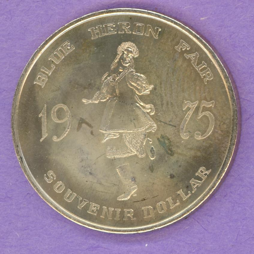 1975 Barrhead Trade Token - Ukrainian Dancer