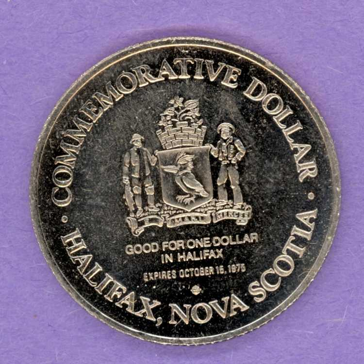 1975 Halifax Dartmouth Trade Token - Joseph Howe