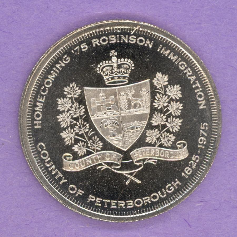 1975 Peterborough Ontario Trade Token
