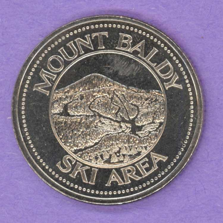 1976 Osoyoos, BC Trade Token - Mt. Baldy
