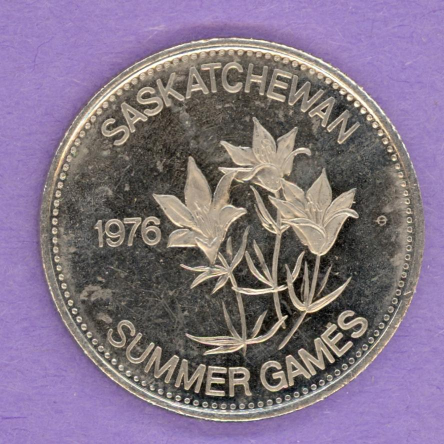 1976 Swift Current, Saskatchewan Trade Dollar