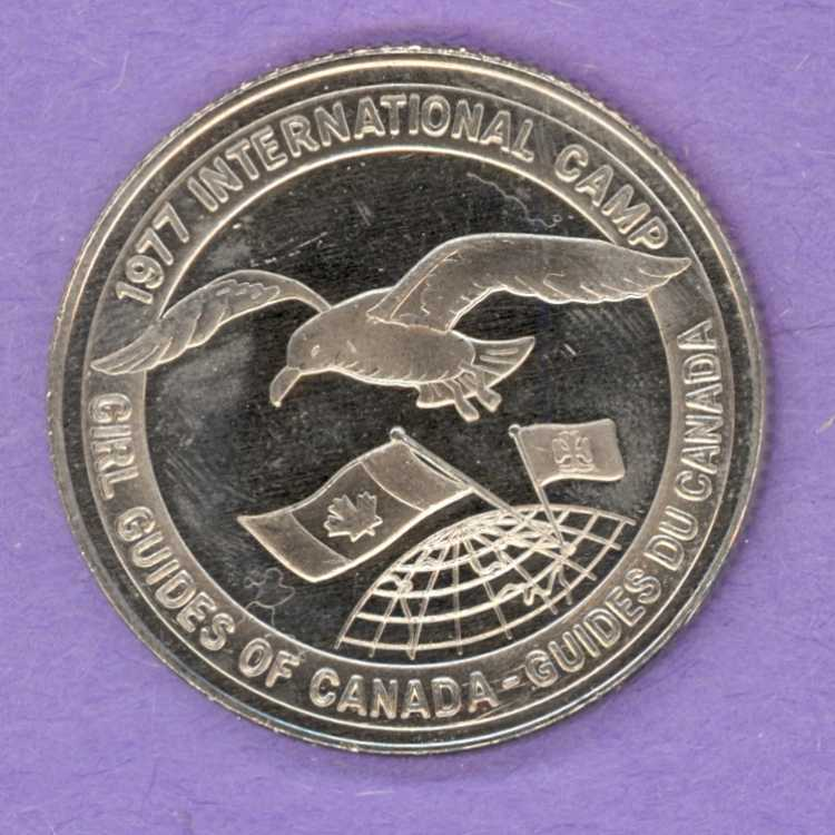 1977 Cape Breton Trade Token - Girl Guides