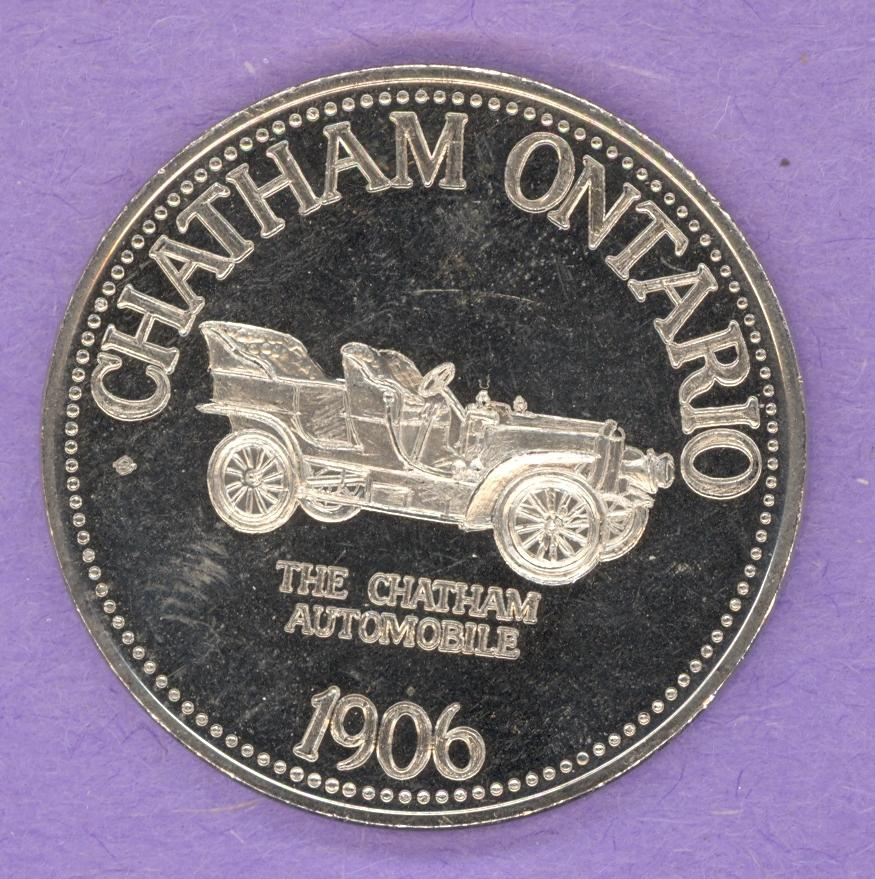 1977 Chatham Ontario Trade Dollar - Chatham Automobile
