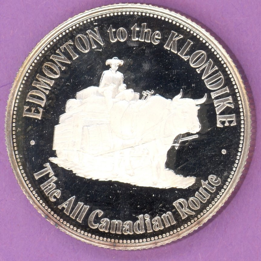 1976 St  Catharines Ontario Trade Token or Dollar 100th
