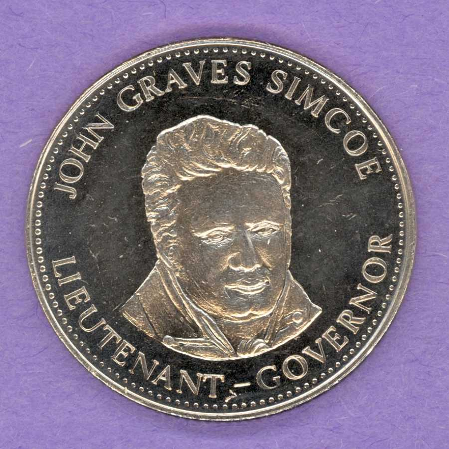 1977 London Ontario Trade Token - John Simcoe