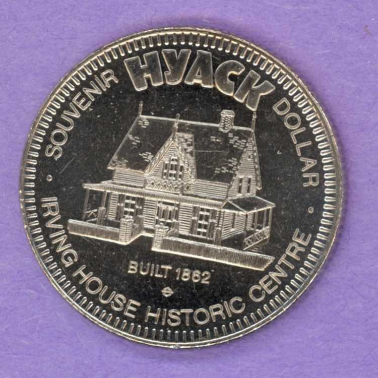 1977 New Westminster BC Trade Token - Irving House