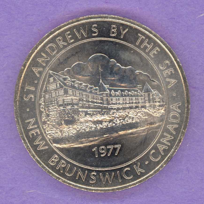 1977 St Andrews by the Sea, N.B. Trade Token