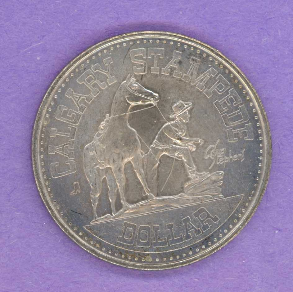 1978 Calgary Trade Token - Boot Mint Mark