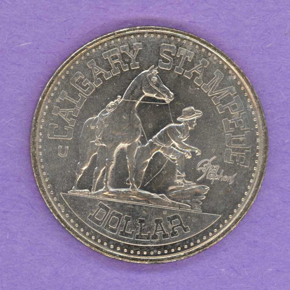 1978 Calgary Alberta Trade Token - Horseshoe Mint Mark