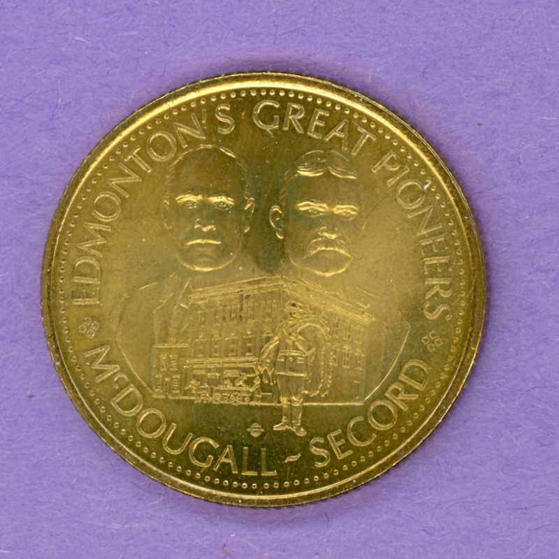 1978 Edmonton Alberta Trade Dollar Shovel Mint Mark