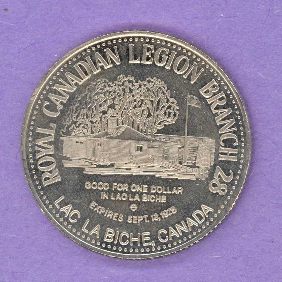 1978 Lac La Biche, Alberta Trade Token