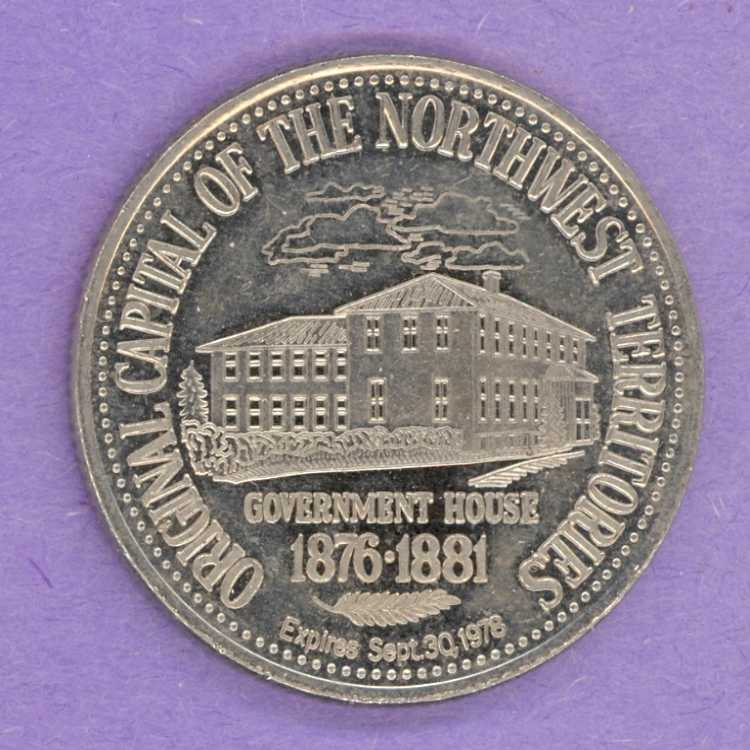 1978 North Battleford, Saskatchewan Trade Dollar