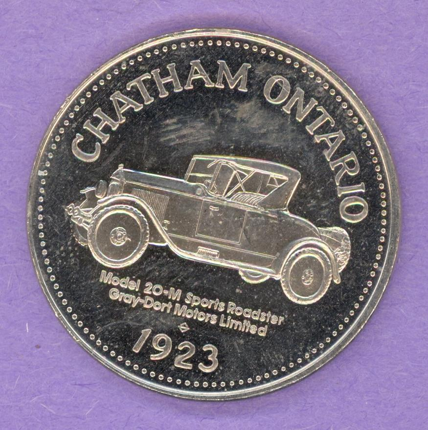 1979 Chatham Ontario Trade Dollar - Model 20-M Roadster
