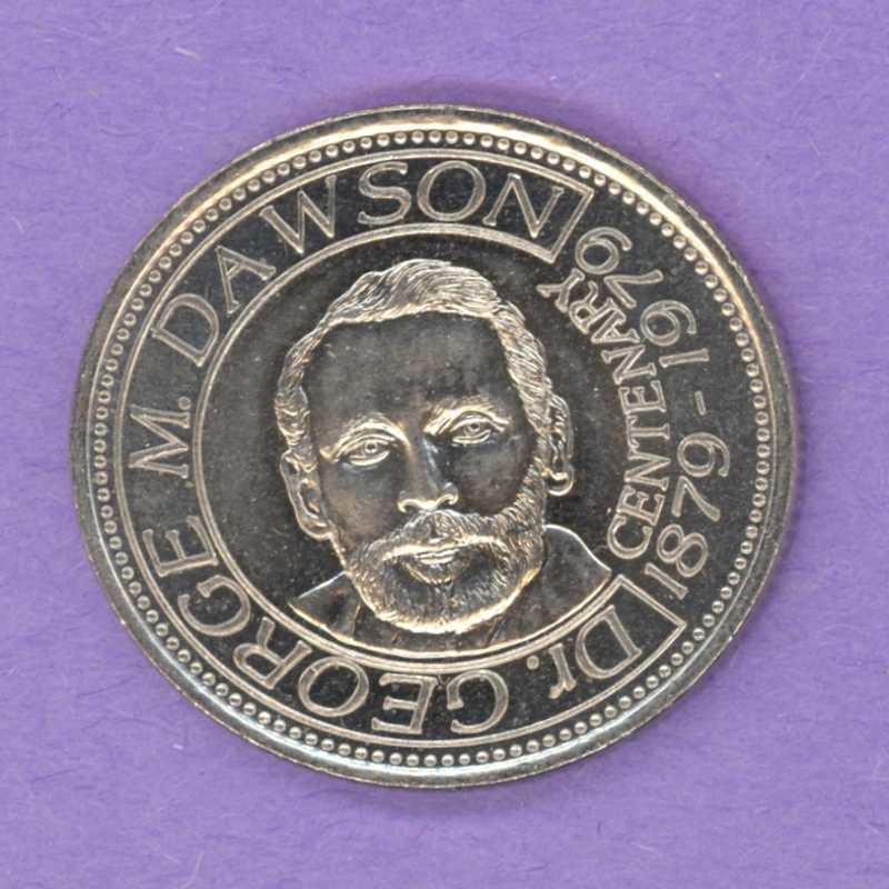 1979 Dawson Creek, BC Trade Dollar