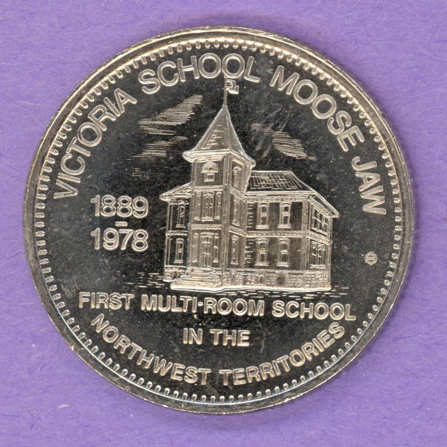 1979 Moose Jaw Saskatchewan Trade Dollar