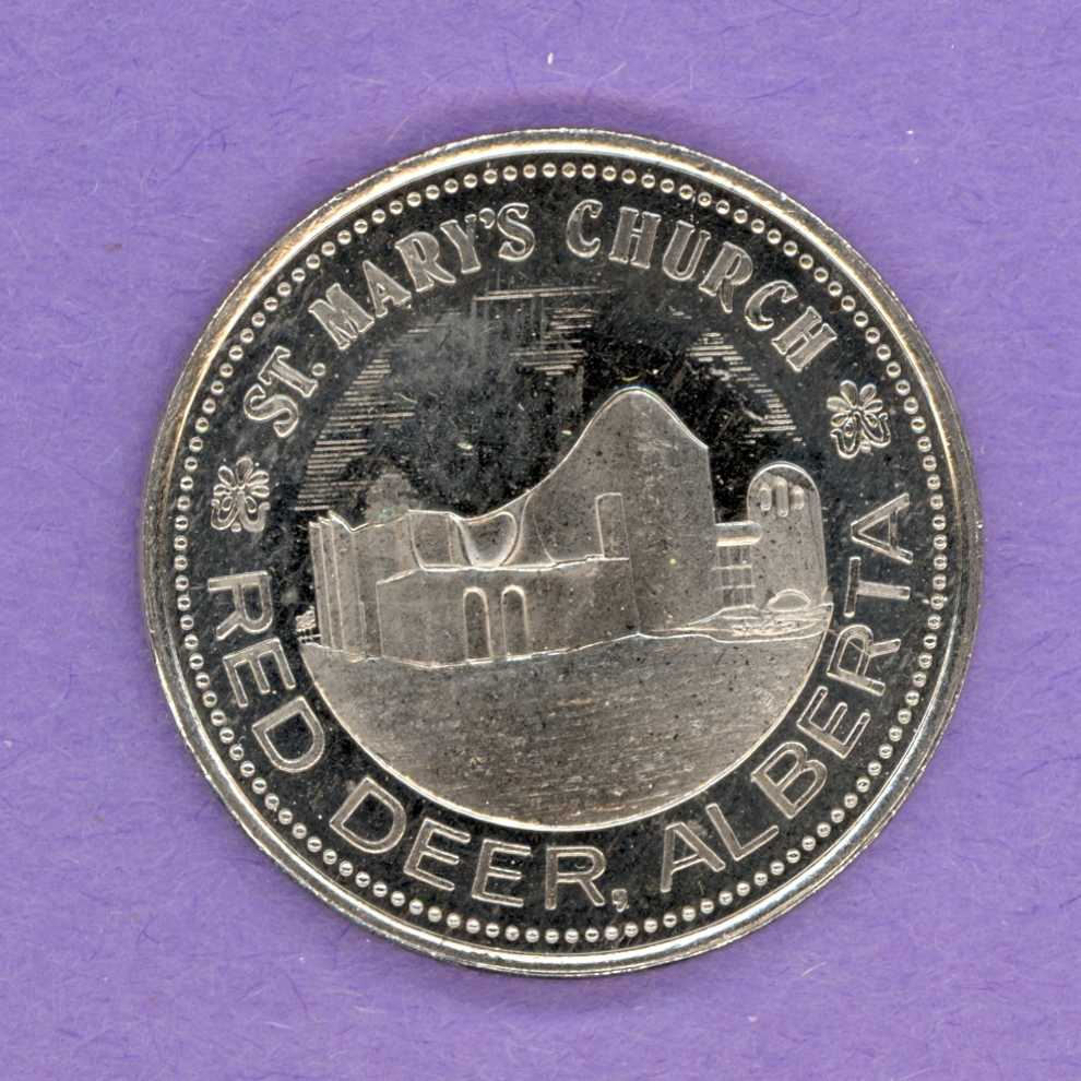1979 Red Deer Alberta Trade Dollar