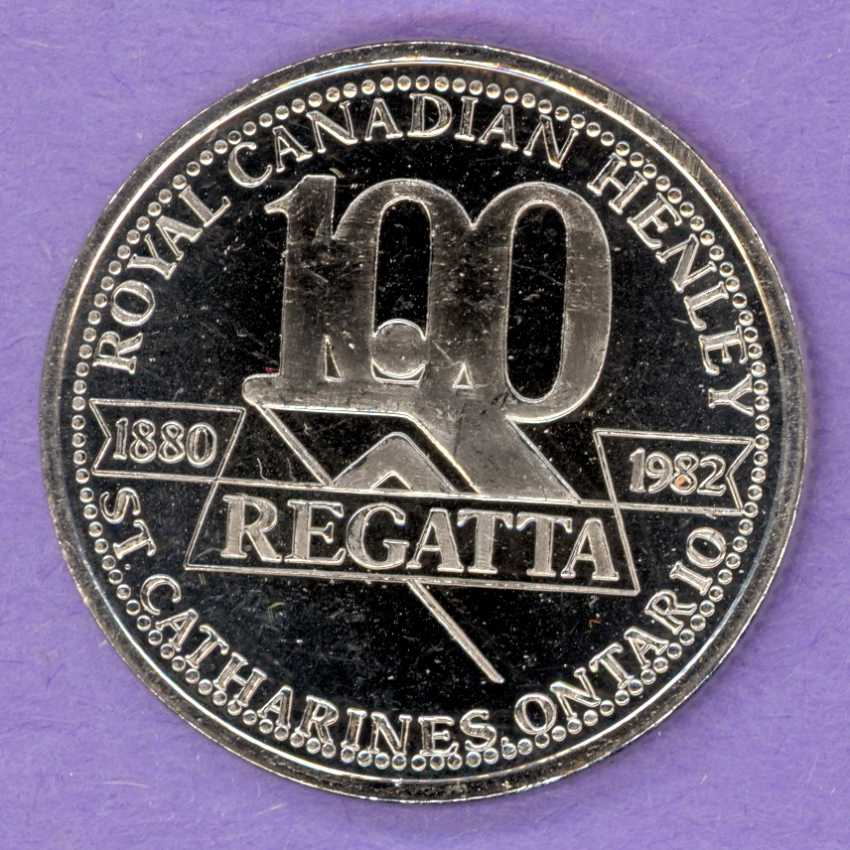 1982 St. Catharines Ontario Trade Token