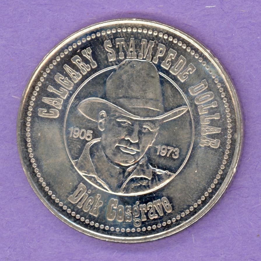 1983 Calgary Trade Token - Dick Cosgrave Boot Mint Mark