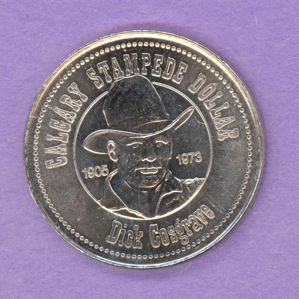 1983 Calgary Alberta Trade Token - Hat Mint Mark