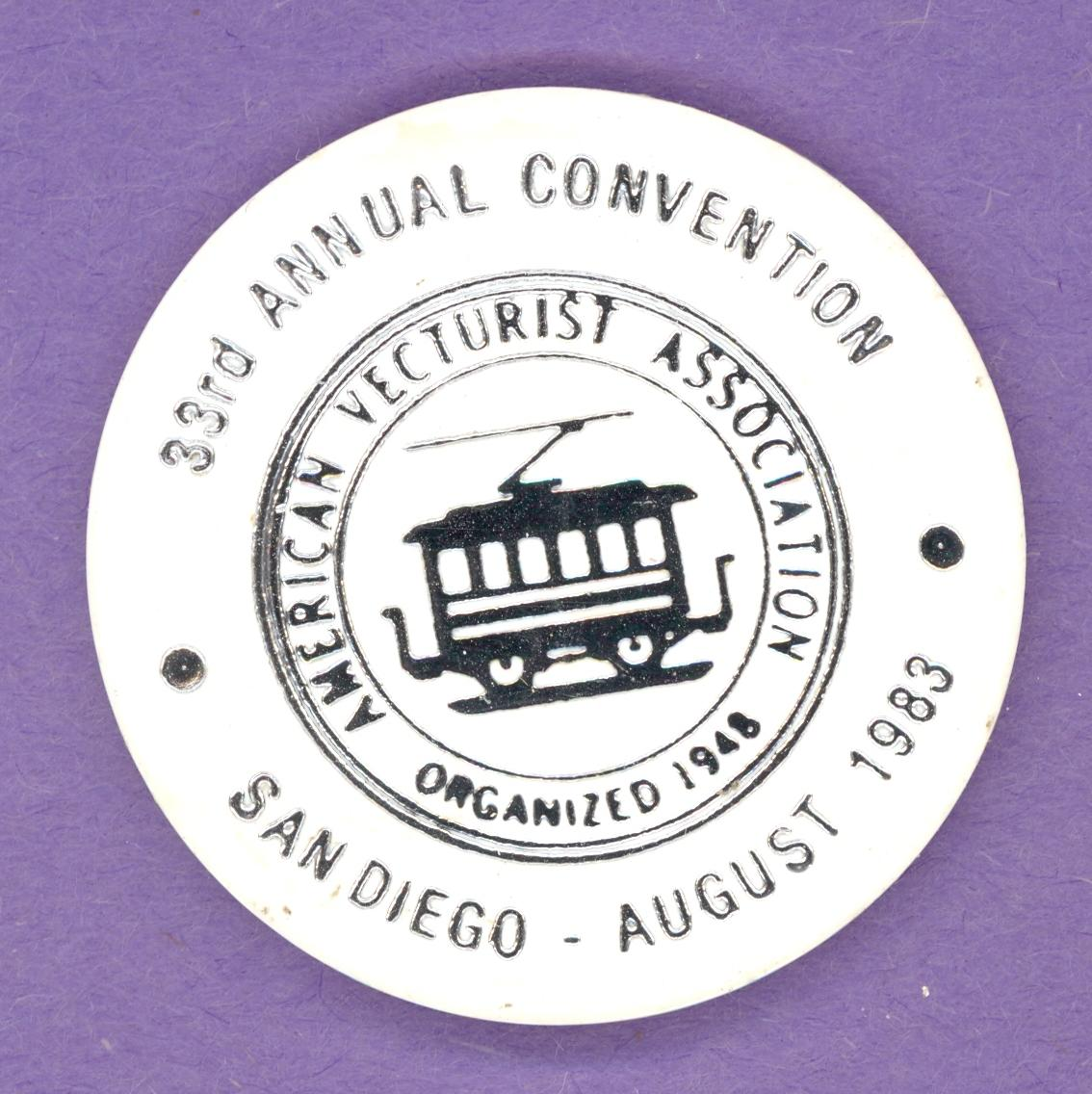 1983 American Vecturist Association San Diego - Colbert