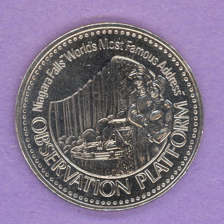 Niagara Falls Ontario 1985 Trade Dollar