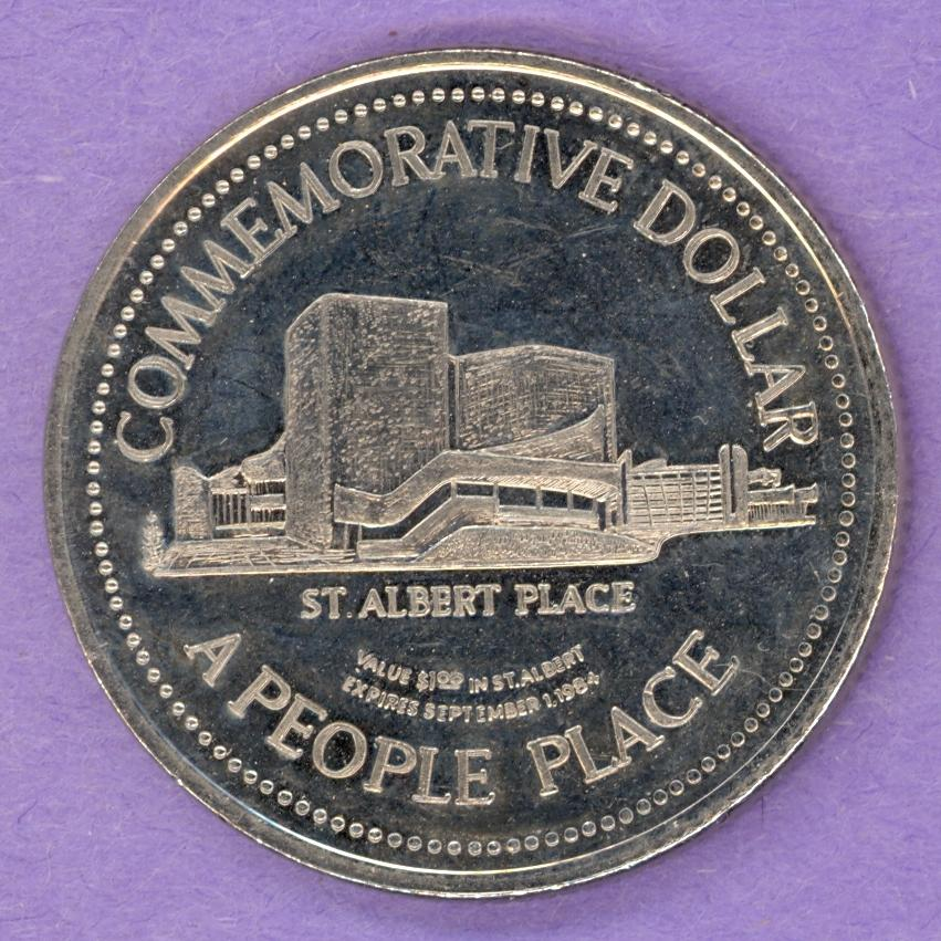 1984 St. Albert Alberta Trade Token