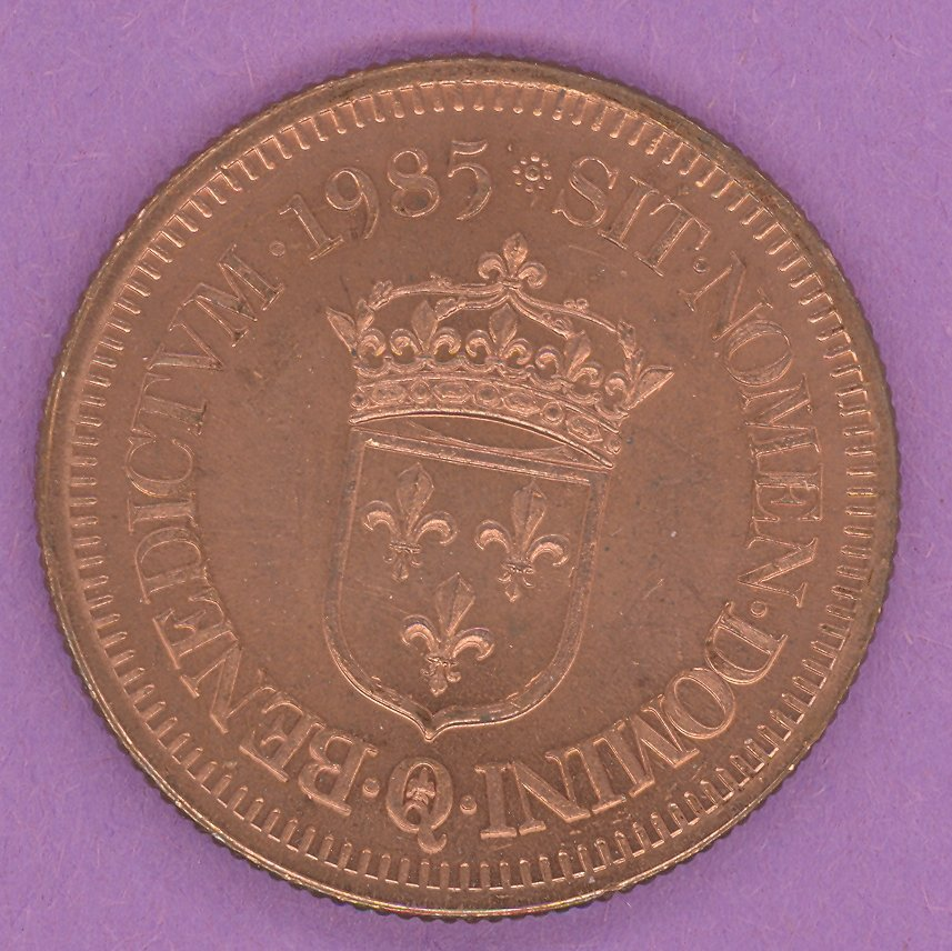 1985 J A Moisan Store Quebec 30 sous Private Trade Token Crown Above Shield Store BRONZE