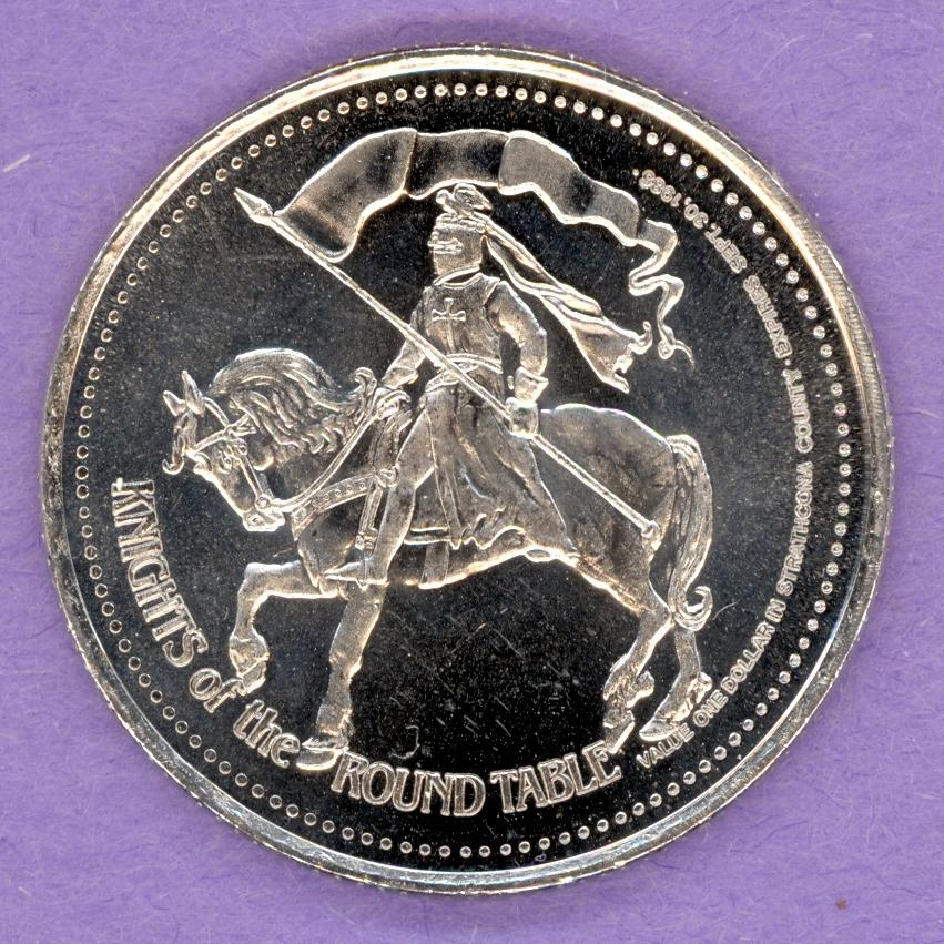 1985 Strathcona County Trade Token - Knight