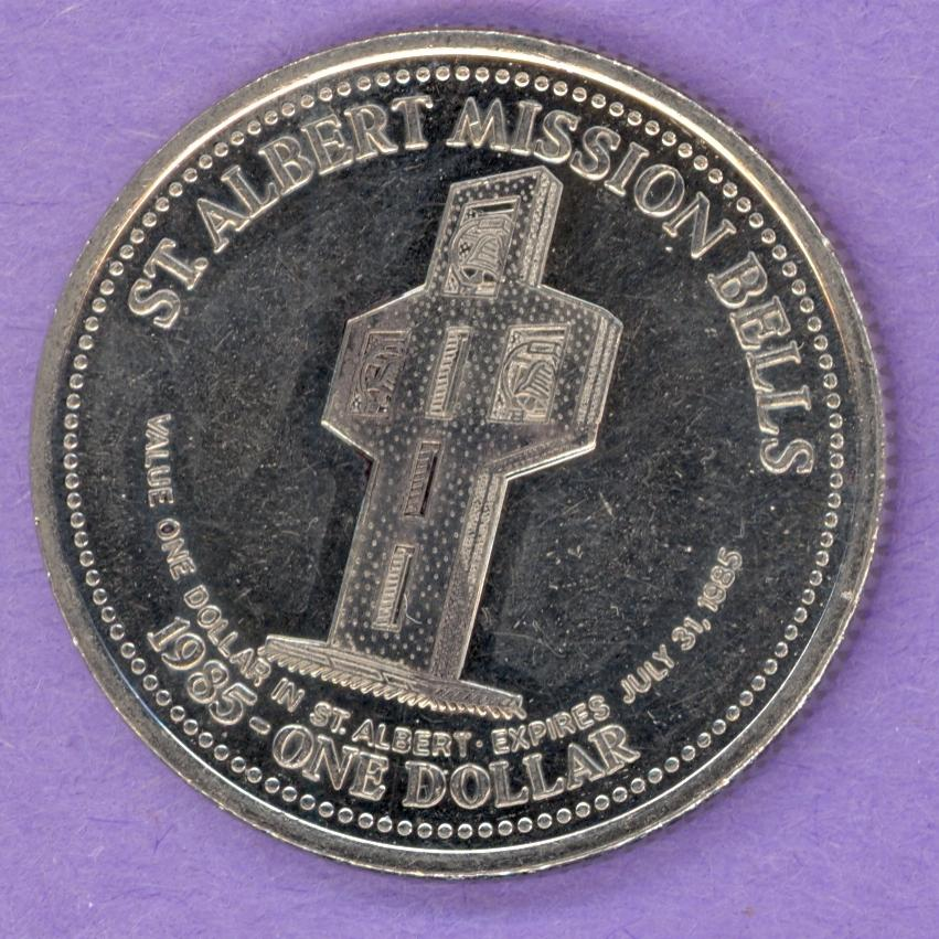 1985 St. Albert Alberta Trade Token