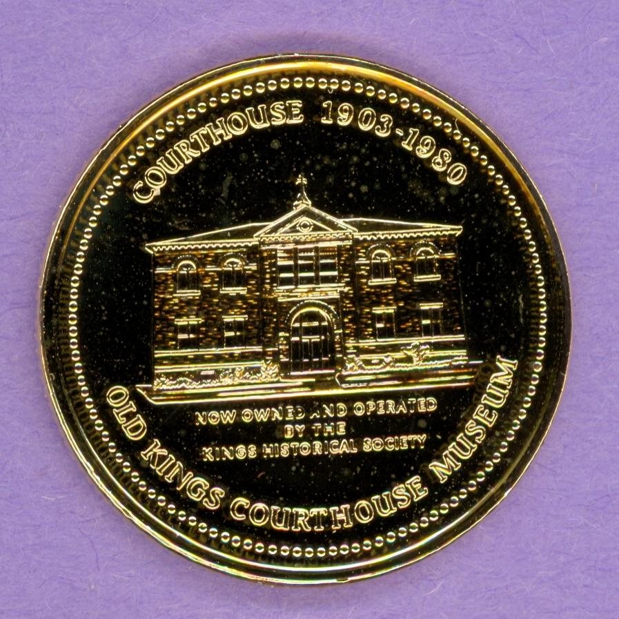 1994 Municipality of the County of Kings - gold plate