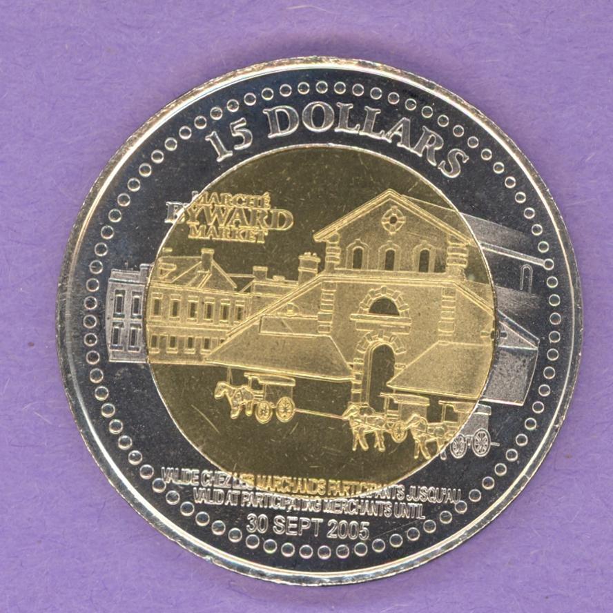 Fan Apparel & Souvenirs Vancouver Habitat Trade Dollar 1976 Stater Mint Medallion Coin