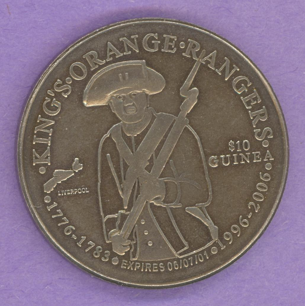 2006 Liverpool Nova Scotia Trade Token or Dollar Soldier George III ANS
