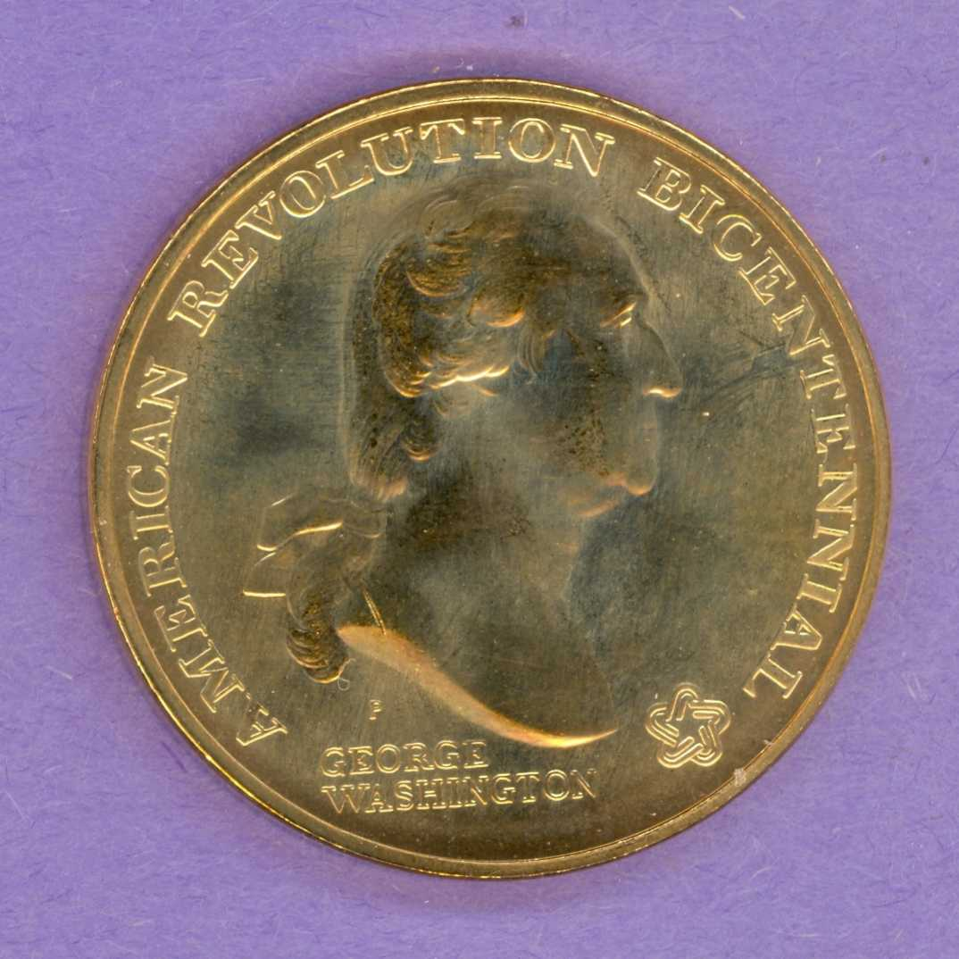 George Washington American Revolution Bicentennial Medallion