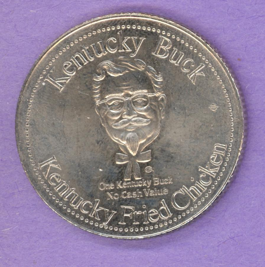 1980 Kentucky Fried Chicken Buck - 25 years