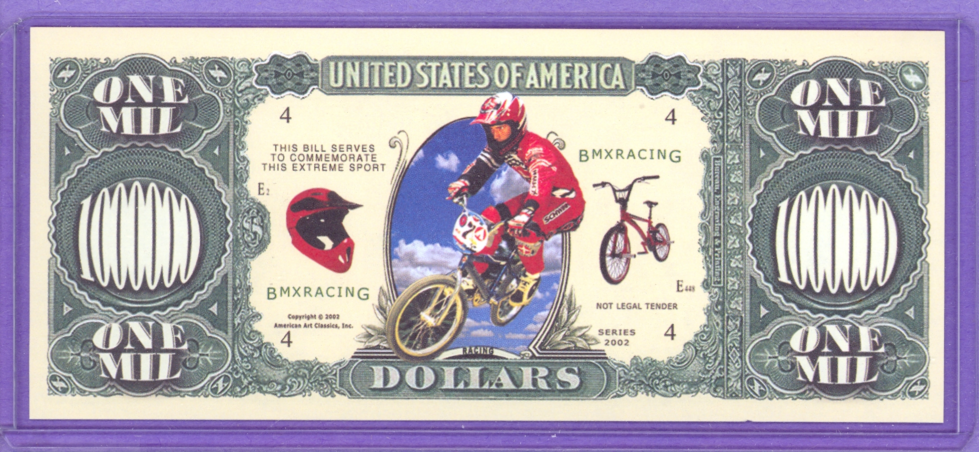2002 BMX Racing Fantasy Note