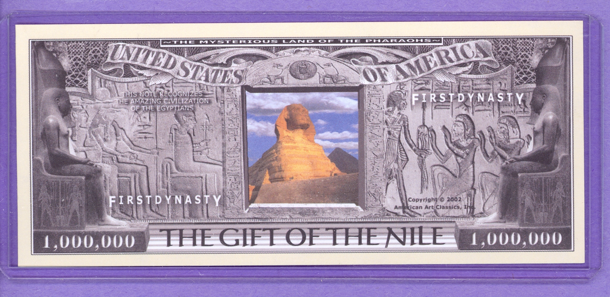 Gift of the Nile Fantasy Note