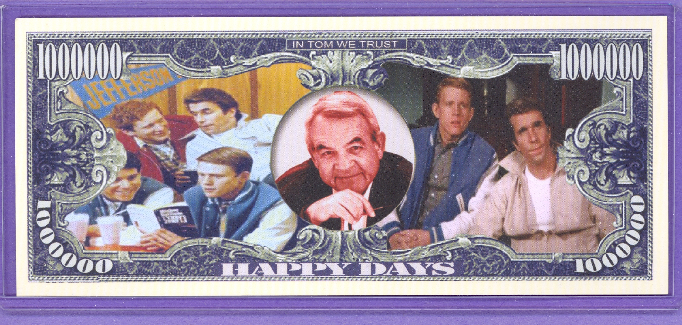 In Memory of Tom Bosley $1,000,000 Fantasy Note