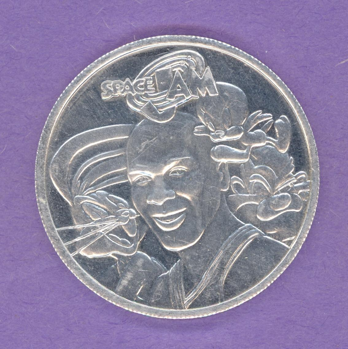 Michael Jordan Space Jam Medallion