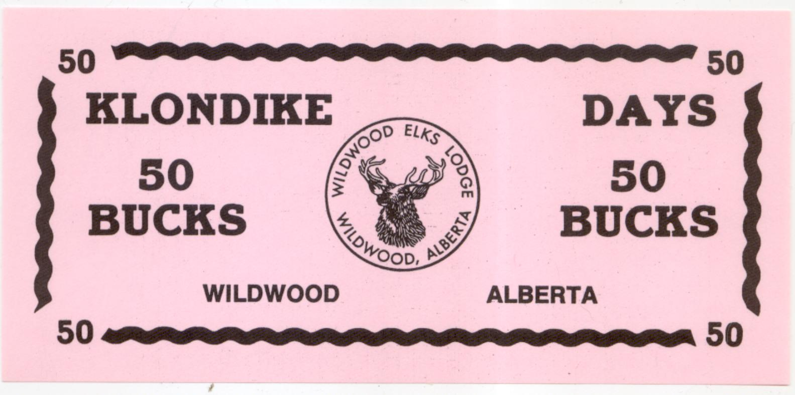 Wildwood Alberta 50 Trade Bucks Undated
